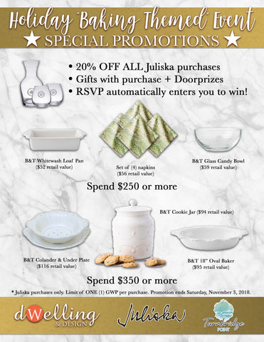Special Event Promotions