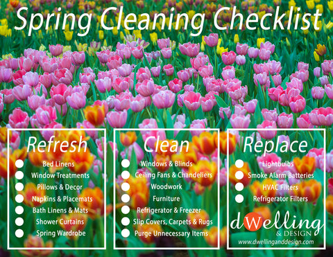 Spring Cleaning Checklist | Dwelling & Design