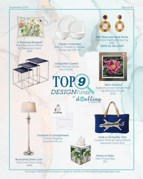Dwelling & Design | Top 9 DESIGNFinds | Edition #3