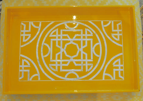 Canary Yellow Tray