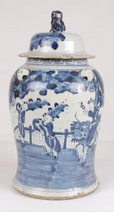 Blue & White Ginger Jar