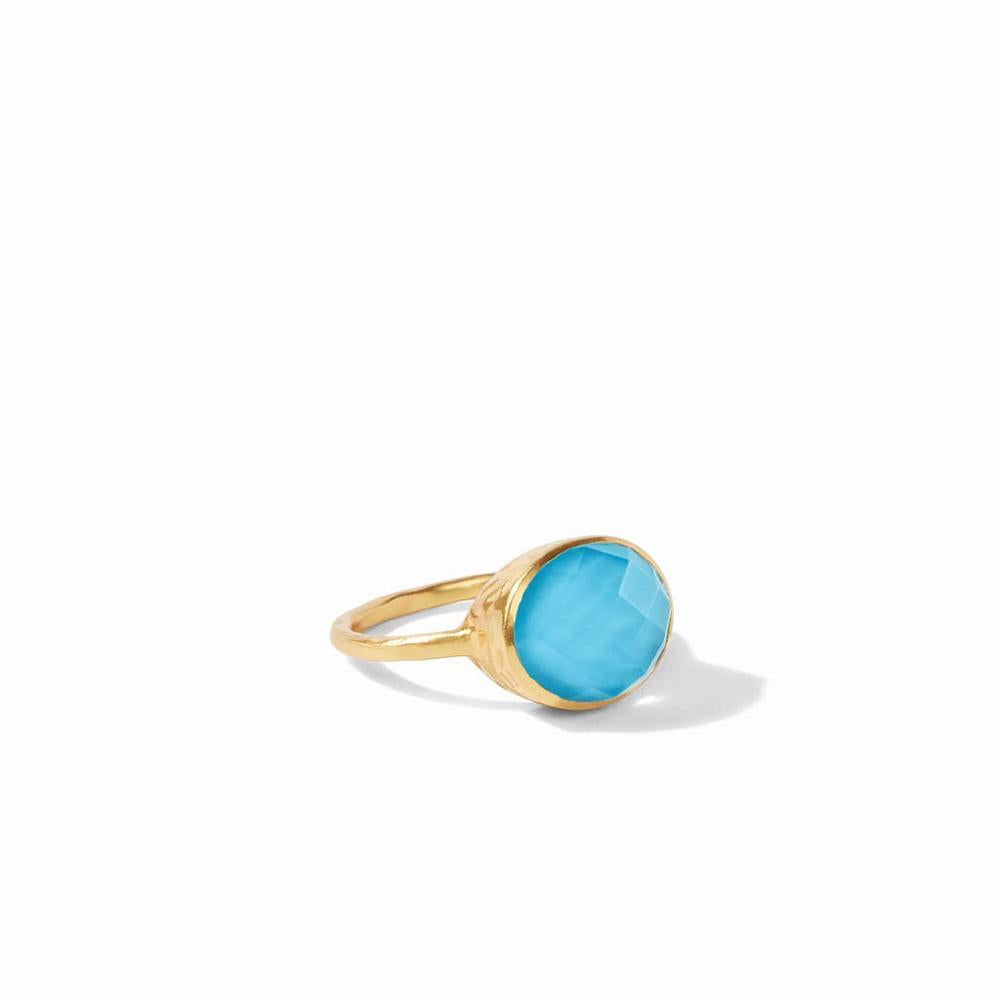 Honey Stacking Ring | Pacific Blue