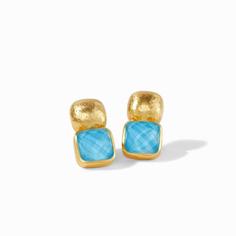 Catalina Earring | Pacific Blue