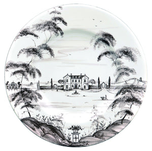 Country Estate Flint Dinner Plate Main House