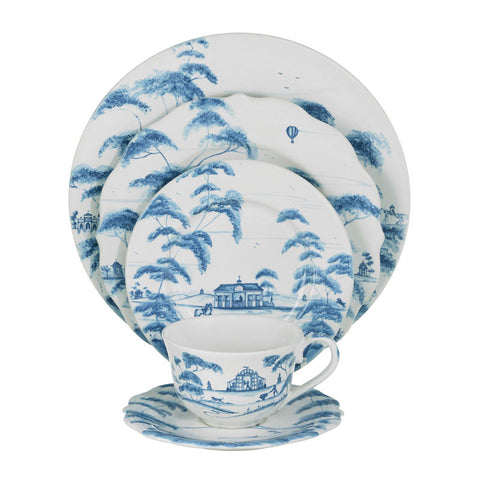 Country Estate Delft Blue 5pc Setting
