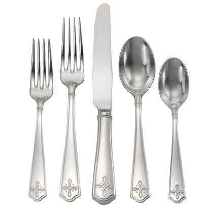 Villandry Bright Satin 5 Piece Place Setting