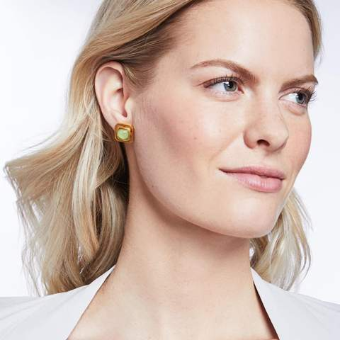 Geneva Stud Earring | More colors available