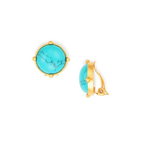 Honey Clip-on Earrings | More colors available
