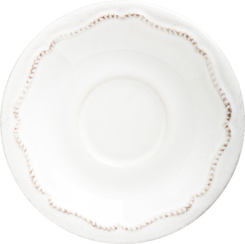 Berry & Thread Whitewash Demitasse Saucer