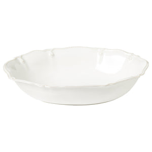 "Berry & Thread Whitewash 12"" Oval Serving Bowl"