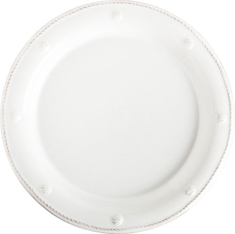 Berry & Thread Whitewash Dessert/Salad Plate