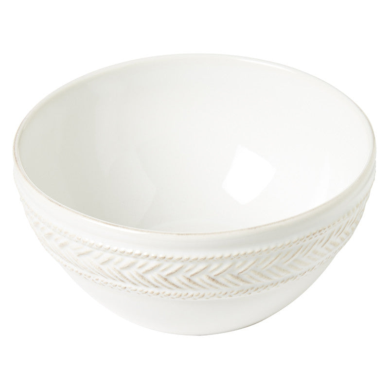 Le Panier Whitewash Cereal/Ice Cream Bowl