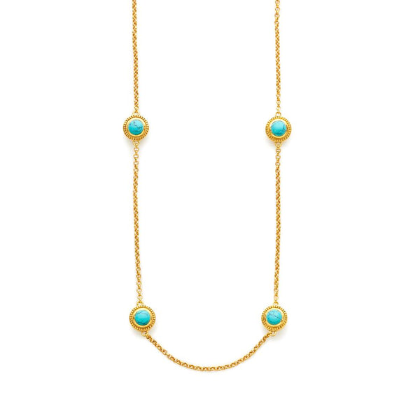 Loire Station Necklace | More colors available