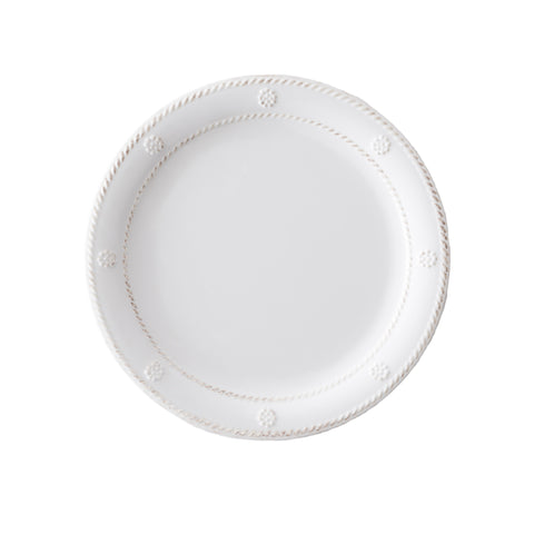 Al Fresco Berry & Thread Melamine Whitewash Dessert/Salad Plate