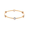 Milano 6-Stone Bangle | More colors available