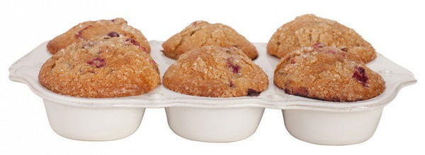 Berry & Thread Whitewash Muffin Pan