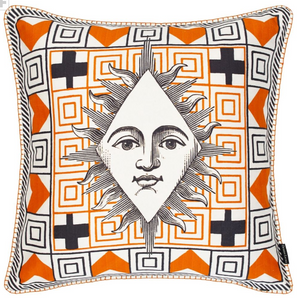 POKER FACE MULTICOLORE DECORATIVE PILLOW