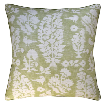 Allaire Pillow by Ryan Studio | Spring Green