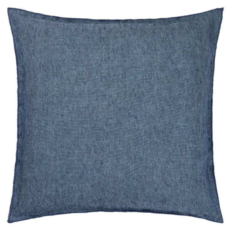 Brera Lino Ink Decorative Pillow