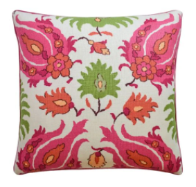 Kashmiri Pillow | More colors available