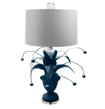 Crunchberry Lamp | Down Pour Blue