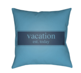 Vacation Indoor/Outdoor Pillow