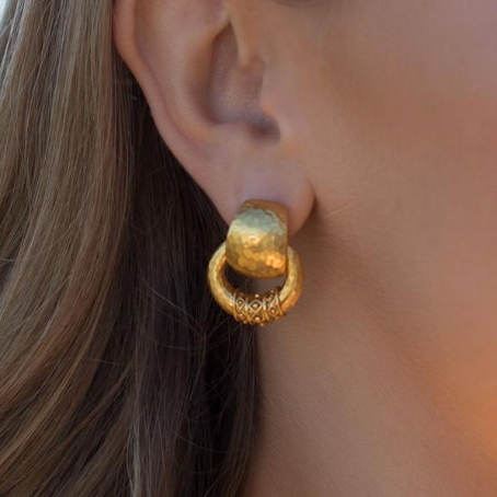 Catalina Doorknocker Earring