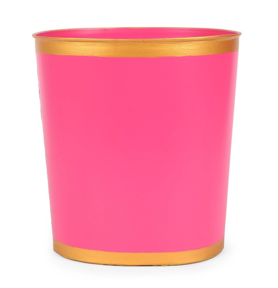 Color Block Oval Wastebasket | More colors available