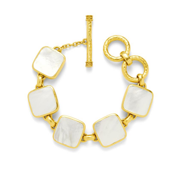 Catalina Stone Bracelet | Mother of Pearl