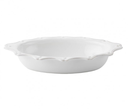 "Berry & Thread Whitewash 18"" Oval Baker"