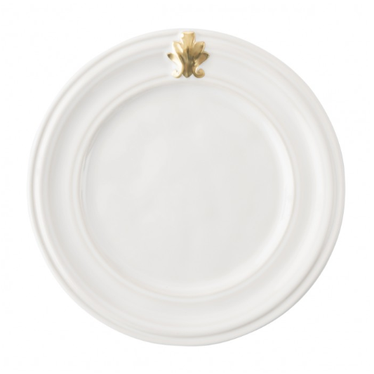 Acanthus Gold Side/Cocktail Plate
