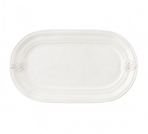 Acanthus Whitewash Hostess Tray