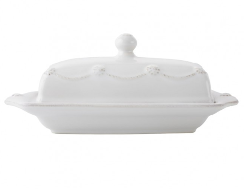 Berry & Thread Whitewash Butter Dish