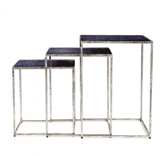 MACI RECTANGULAR NESTING TABLES | COBALT