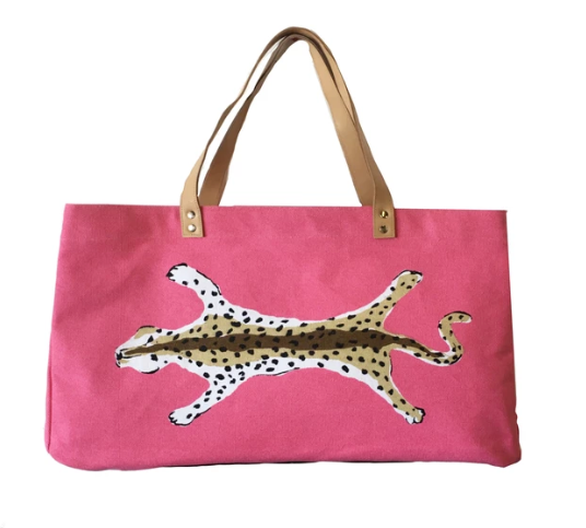 Leopard Shoulder Tote | More colors available