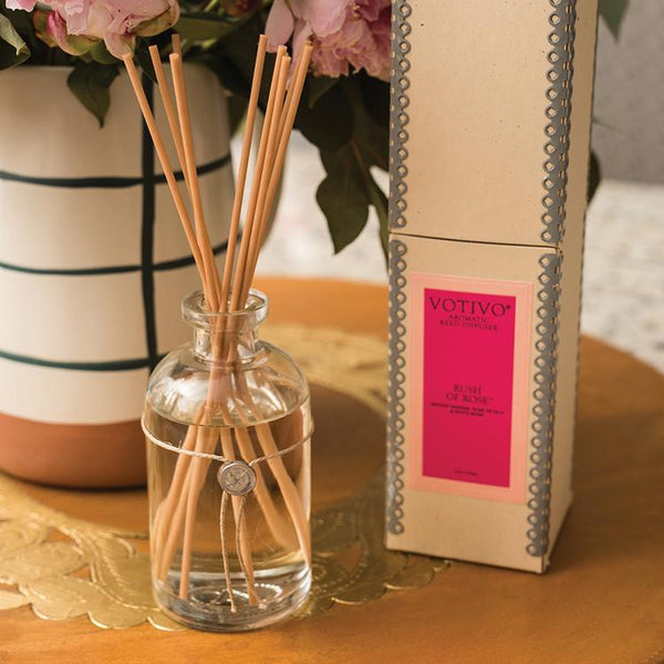 AROMATIC REED DIFFUSER | RUSH OF ROSE