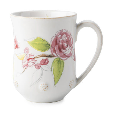 Berry & Thread Floral Sketch Camellia Mug