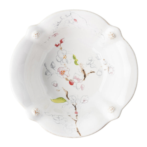 Berry & Thread Floral Sketch Cherry Blossom Cereal/Ice Cream Bowl