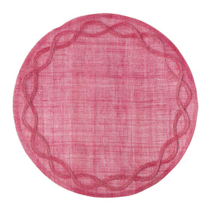 Tuileries Garden Round Placemat | More colors available