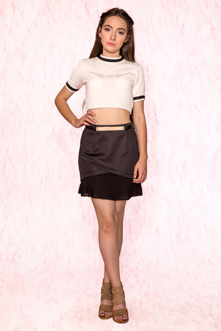 Farrah Pleated Skirt