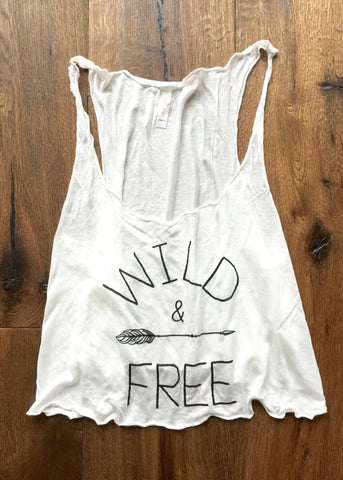 Wild and Free Tank - Hapa Clothing
