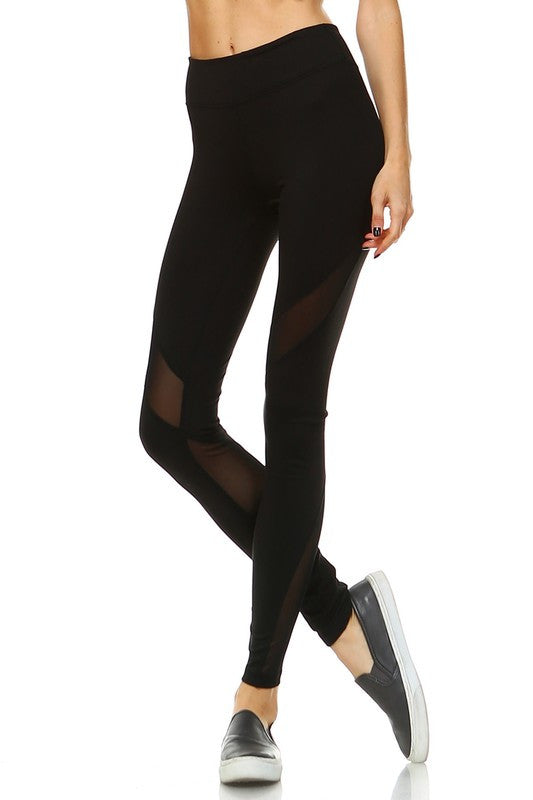 Nadi Yoga Leggings-Black - Hapa Clothing - 3
