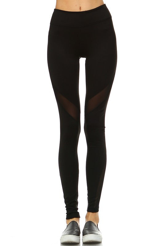 Nadi Yoga Leggings-Black - Hapa Clothing - 4