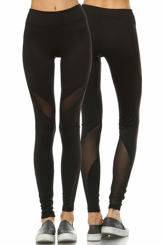Nadi Yoga Leggings-Black - Hapa Clothing