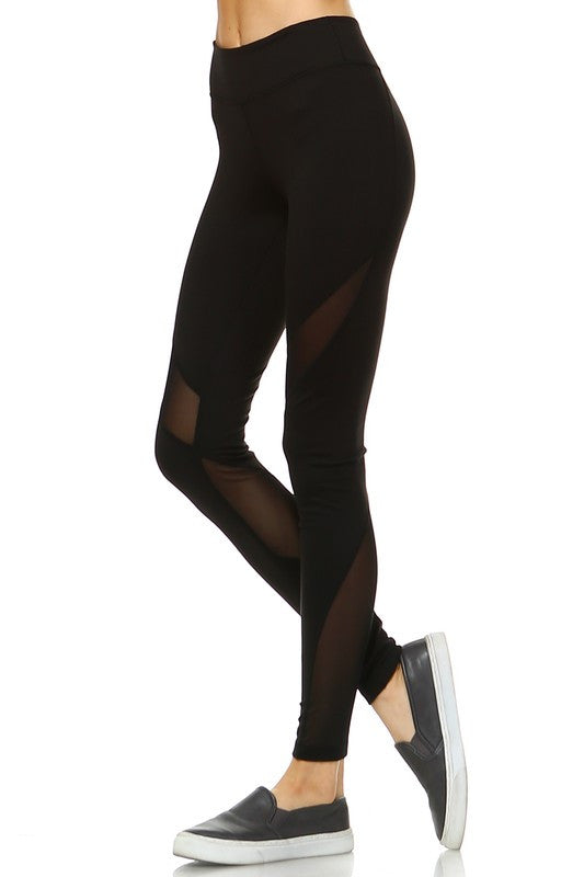 Nadi Yoga Leggings-Black