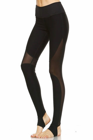 Nauhtya Yoga Pants - Black - Hapa Clothing