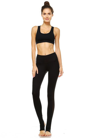 Emma Yoga Leggings-Black - Hapa Clothing - 1