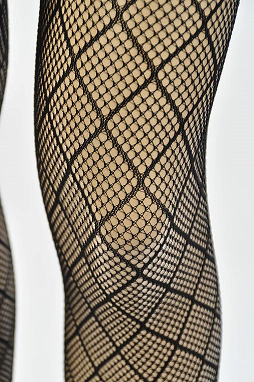 Dare to Wear Fishnet Stockings - Black - Hapa Clothing - 2