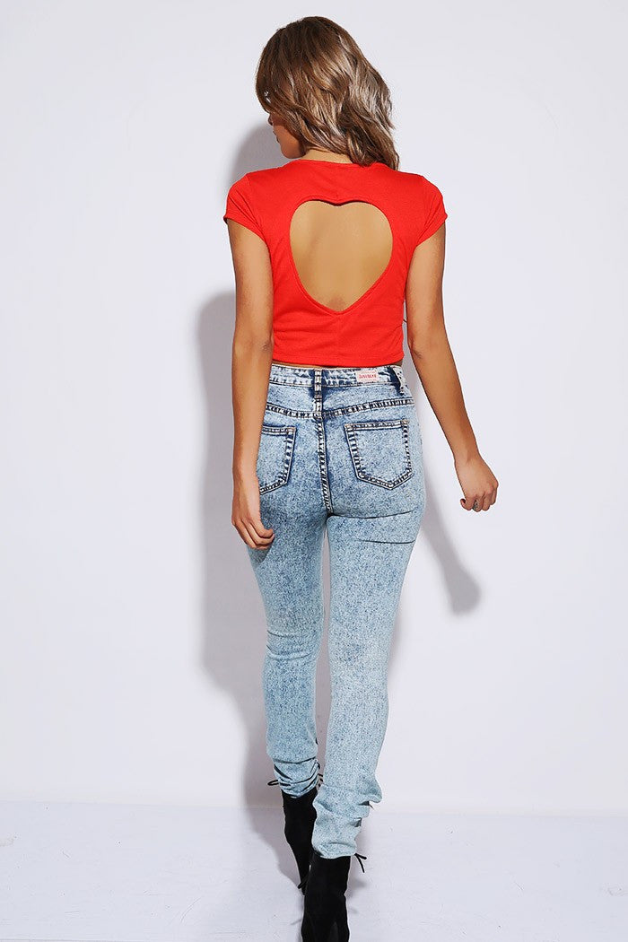 I heart You Crop Top - Hapa Clothing - 1