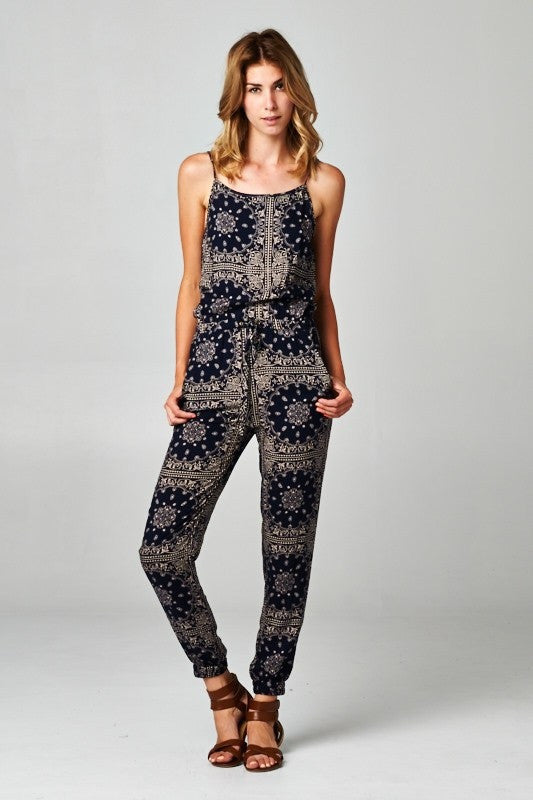 Luna Jumpsuit-Moon - Hapa Clothing